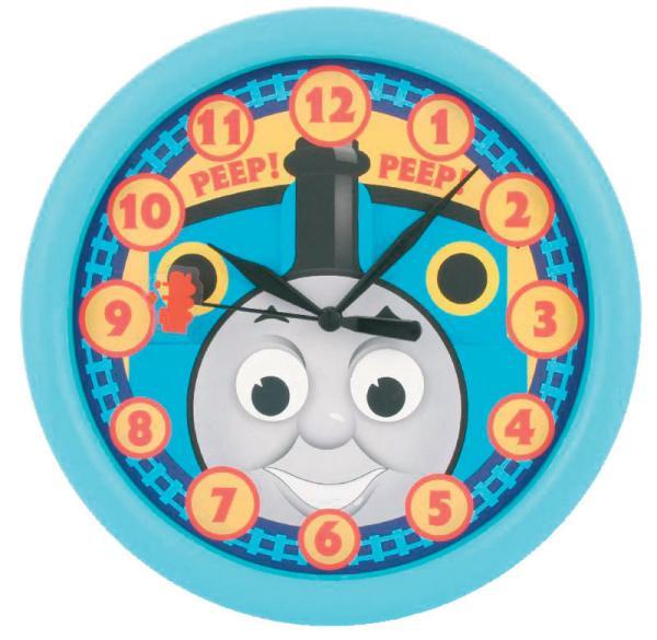 Thomas The Tank Engine Rotating Eyes Wall Clock Toys Zavvi