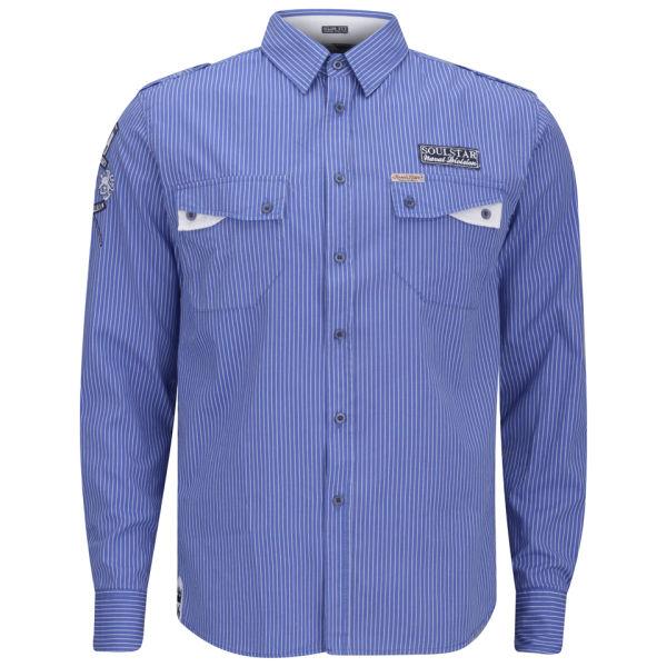Soul Star Men's Kingdom Shirt - Blue