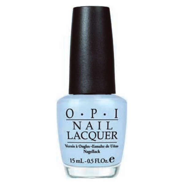 Opi Light Blue Nail Polish Opi i vant to be a-lone starOpi Nail Polish Light Blue