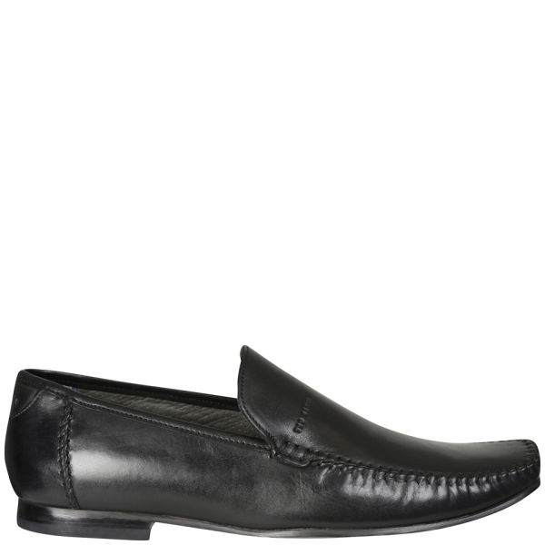 ted baker s bly 5 slip on leather shoes black free