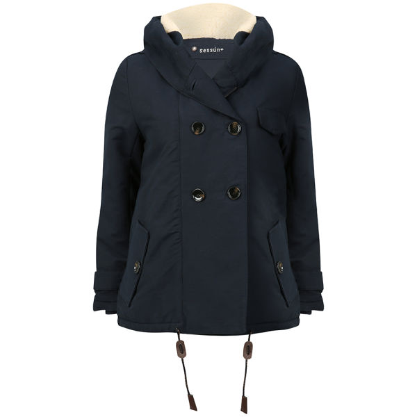 Sessun Women's Sandison Coat - Navy