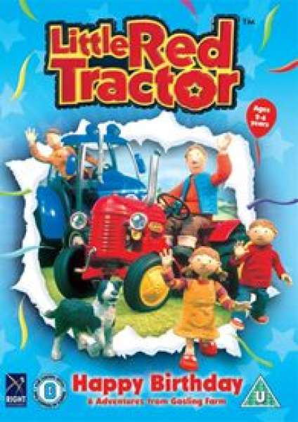 Little Red Tractor Happy Birthday Dvd Zavvi Com