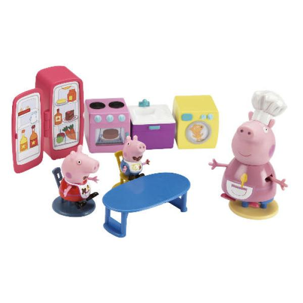 peppa pig kitchen play set tv advertised toys thehut