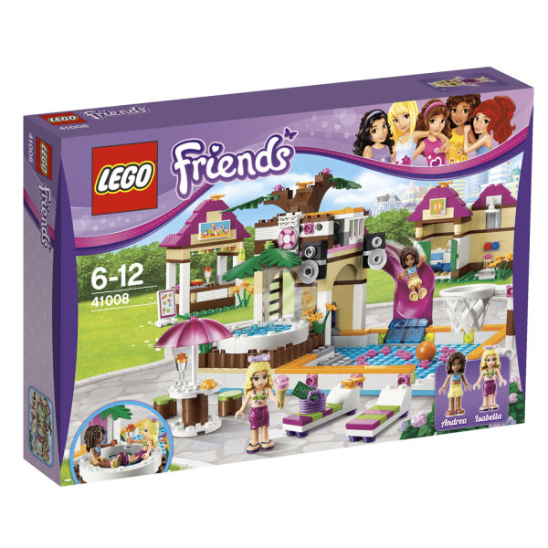 Back to previous page Home LEGO Friends: Heartlake City Pool (41008)