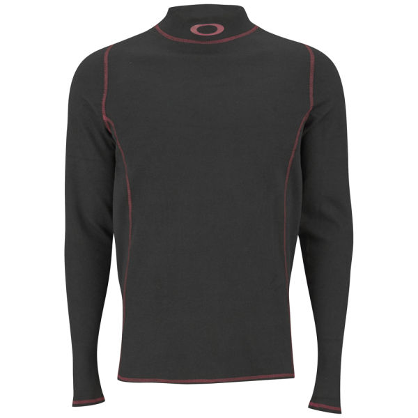 Oakley Men's CarbonX Base Layer Long Sleeve Top - Black ...