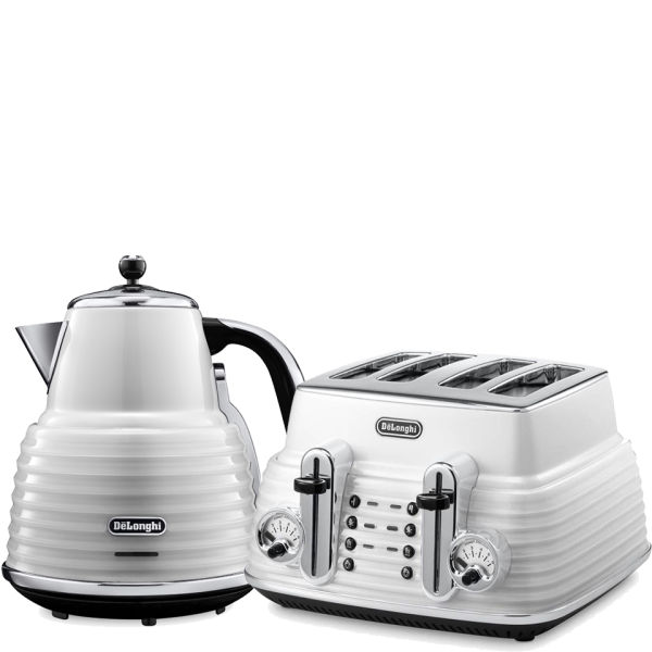 Delonghi Green Kettle And Toaster Set