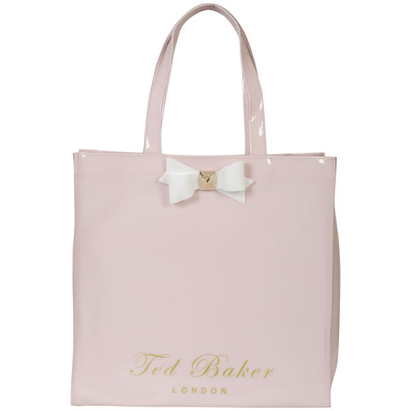 Ted Baker Women S Bigcon Bow Shopper Ikon Bag Baby Pink