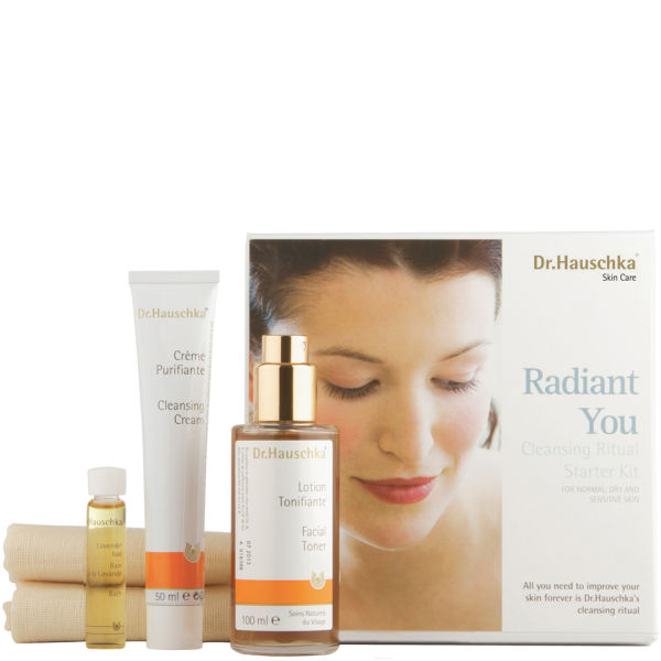dr hauschka dr hauschka radiant you starter kit free delivery. Black Bedroom Furniture Sets. Home Design Ideas