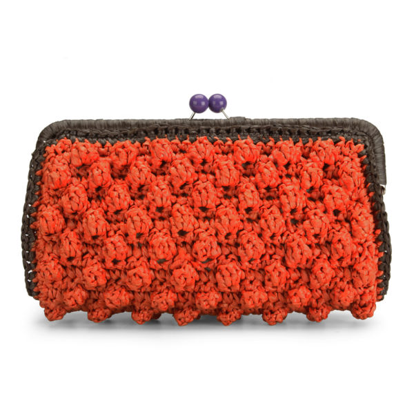 M Missoni Women's Borsa A Mano Clutch Bag - Orange