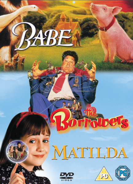 Babe The Borrowers Matilda Dvd Zavvi