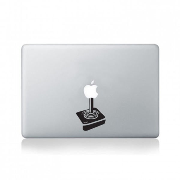 apple joystick macbook aufkleber sowia. Black Bedroom Furniture Sets. Home Design Ideas