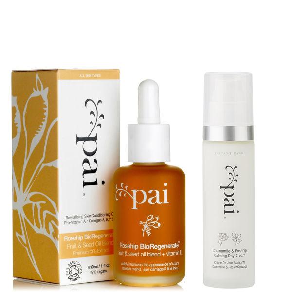 Pai Rosehip Oil and Calming Day Cream Duo