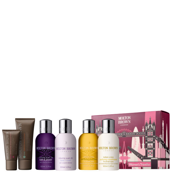 molton brown women 39 s traveller set london edition buy online mankind. Black Bedroom Furniture Sets. Home Design Ideas