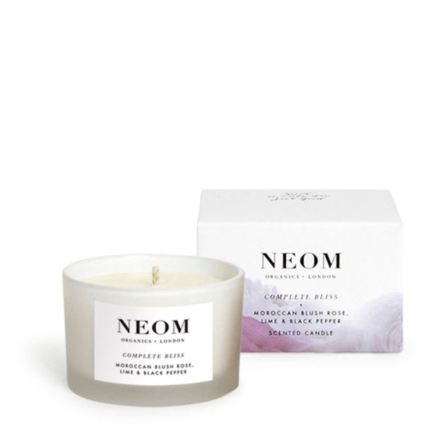 NEOM Organics Complete Bliss Travel Bougie parfumée