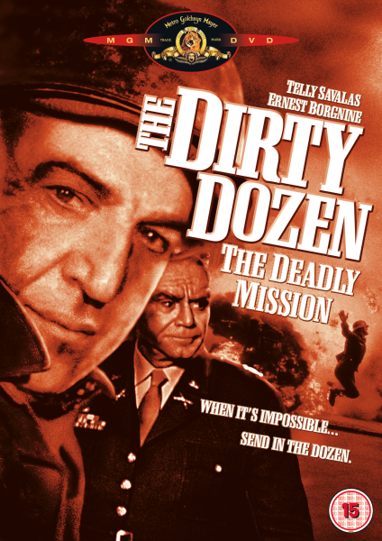 The Dirty Dozen The Deadly Mission Dvd Zavvi