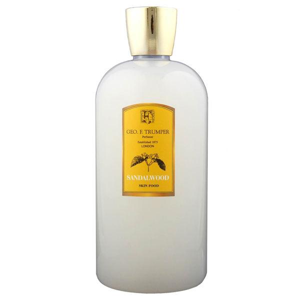 Trumpers Sandalwood Skin Food - 500mlReiseflasche