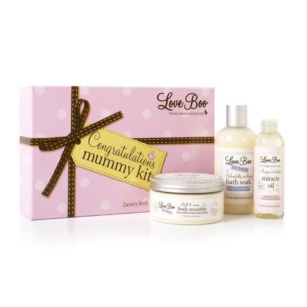 Love Boo Kit di Congratulazioni per Mamme(3 prodotti)