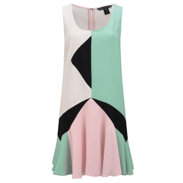 Marc by Marc Jacobs Women's Sleeveless Dress - Dusty Jade Green