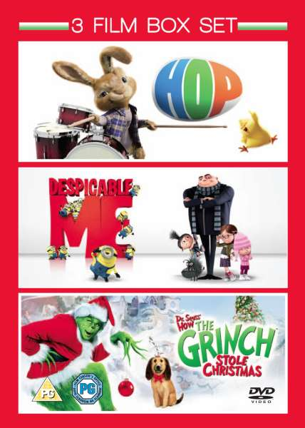 How To Buy A Car Out Of State >> Hop / Despicable Me / The Grinch DVD | Zavvi