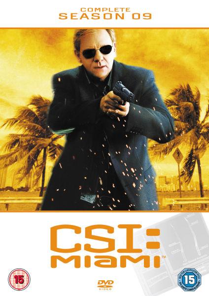 Csi Miami Complete Season 9 Dvd Zavvi