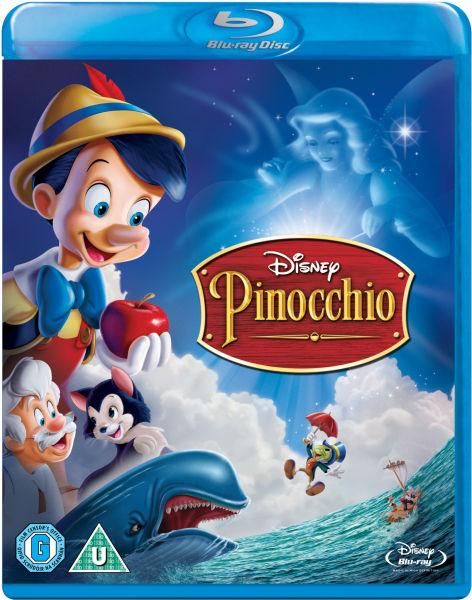 Pinocchio Single Disc Blu Ray Zavvi