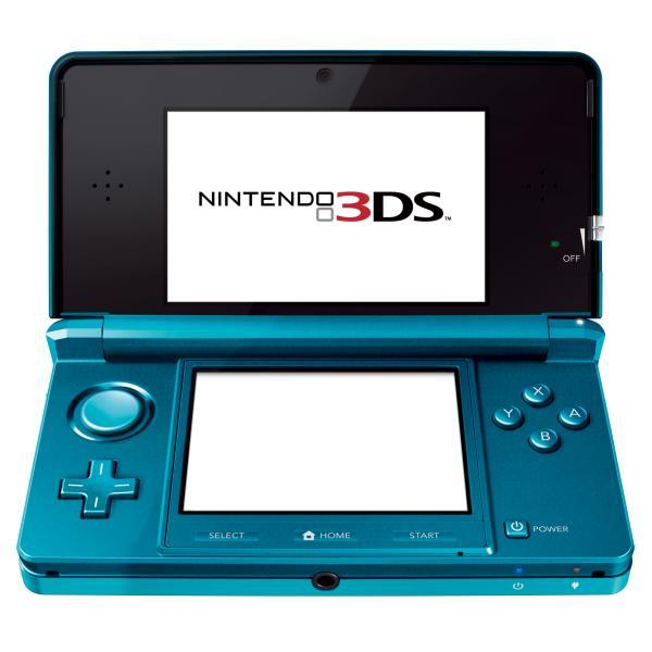 Nintendo 3ds console aqua blue games consoles - Nintendo 3 ds xl console ...