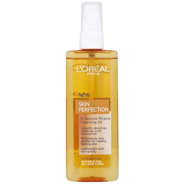 L'Oreal Paris Dermo Expertise Skin Perfection 15 Second Miracle Cleansing Oil - All Skin Types (150ml)