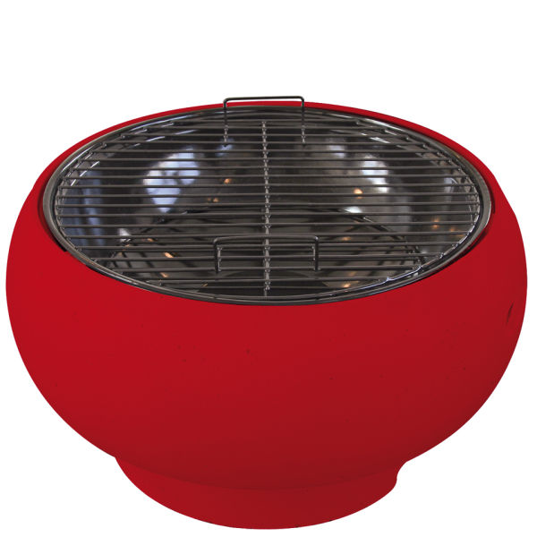 Supagrill Pod Table Top Bbq Red Iwoot