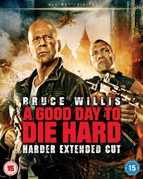 A Good Day To Die Hard Includes Ultraviolet Copy Blu Ray