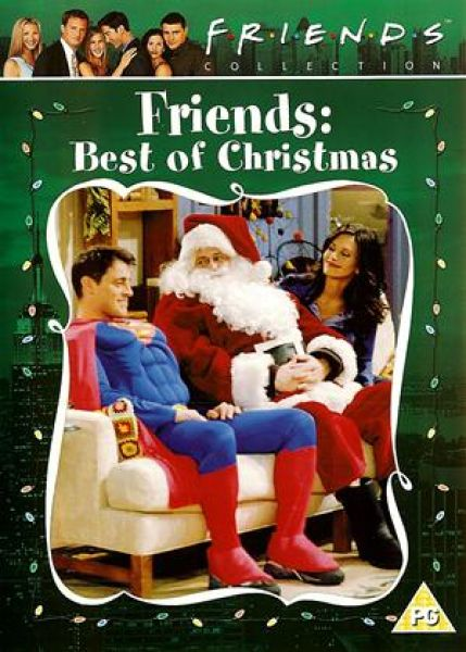 Friends the best of christmas dvd for Christmas movies on cable tv tonight