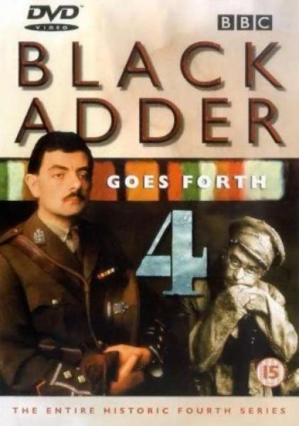 Blackadder Goes Forth Complete Series 4 Dvd Zavvi