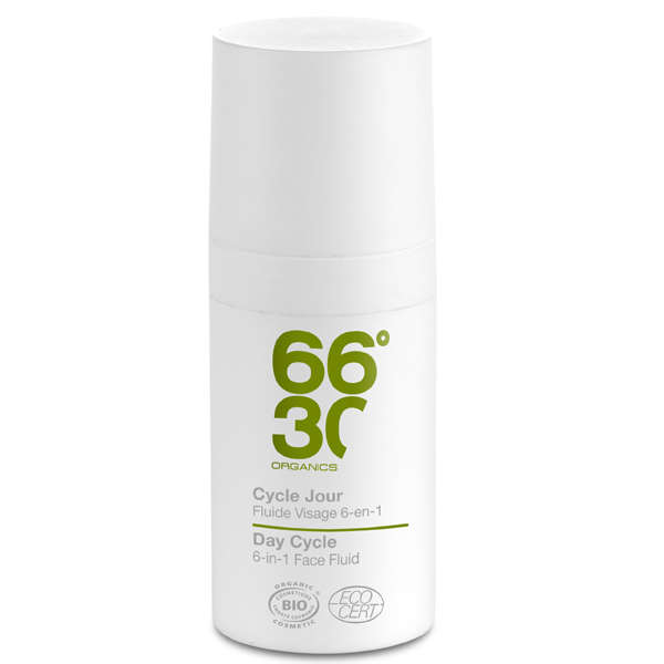 66°30 Organics Day Cycle Ultra-moisturising Face Fluid 15ml