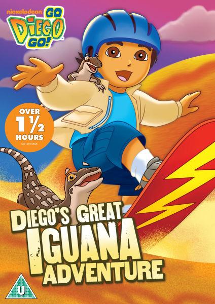 Go Diego Go Great Iguana Adventure Dvd Zavvi