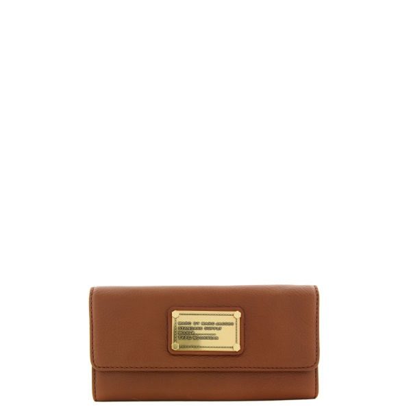 Marc by Marc Jacobs 403 Cinnamon Stick Long Trifold Purse