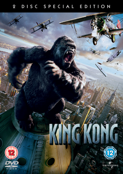 King Kong 2005 Dvd Zavvi