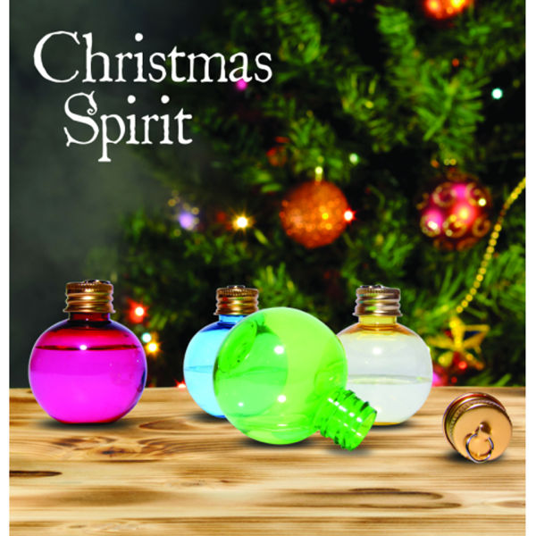 Christmas Spirit Flask Tree Decorations Set Of 6 Iwoot