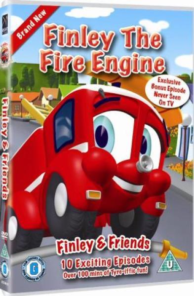 Finley The Fire Engine Dvd Zavvi