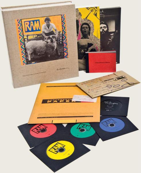 Paul Mccartney Ram Super Deluxe Edition Cd Zavvi