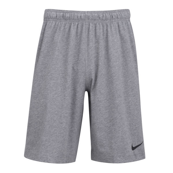 nike men 39 s essential dri fit cotton knitted shorts. Black Bedroom Furniture Sets. Home Design Ideas
