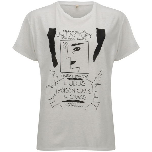 R13 Women's Graphic Boy Cash T-Shirt - Ecru