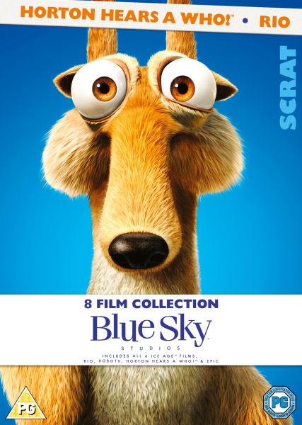 Blue Sky 8 Films Collection Ice Age 1 4 Rio Horton
