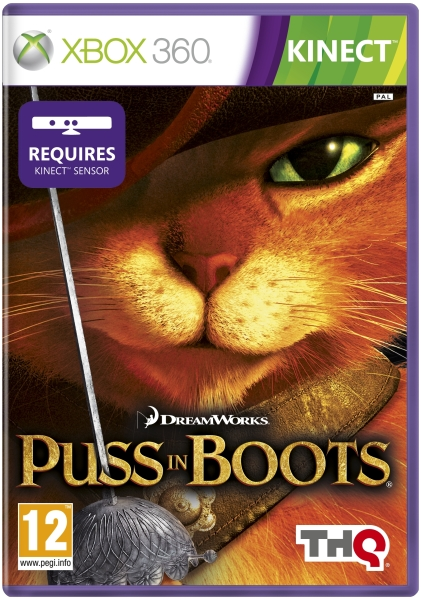Puss In Boots Kinect Xbox 360 Zavvi