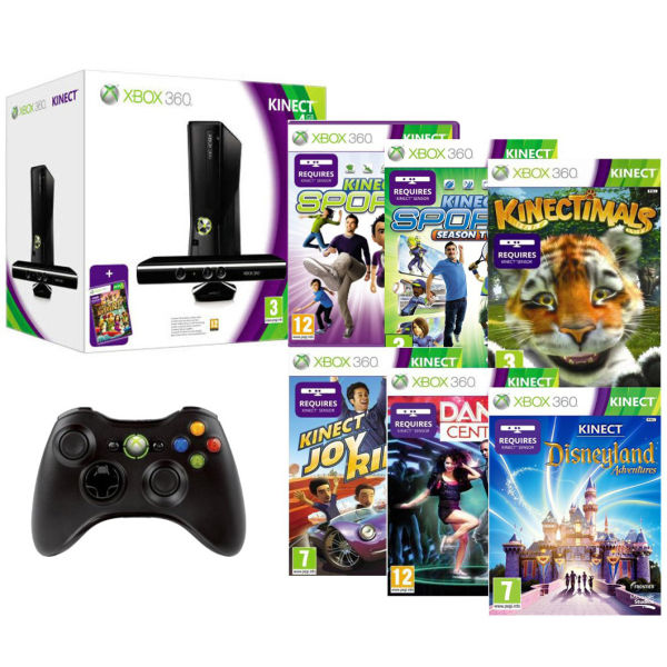 Xbox 360 4GB Kinect Ko...