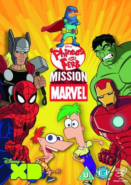 Phineas and Ferb: Mission Marvel DVD   Zavvi.com