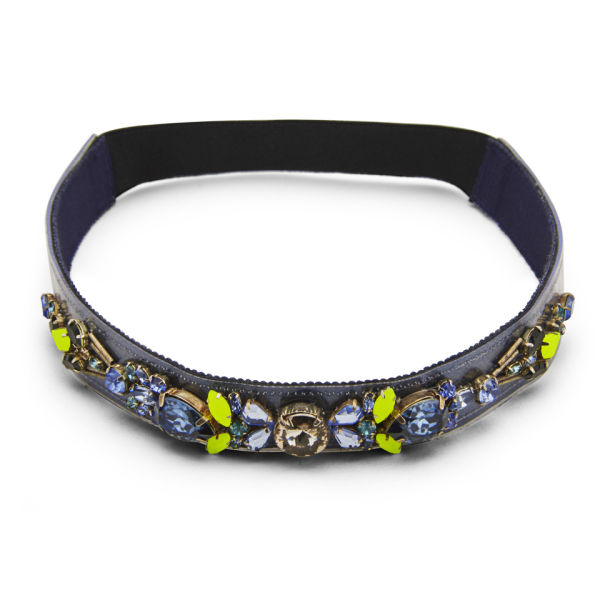 Matthew Williamson Women's Glitter Headband - Navy