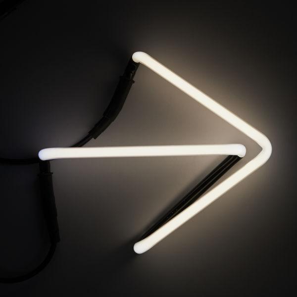 Seletti Neon Font Shaped Wall Light - Arrow