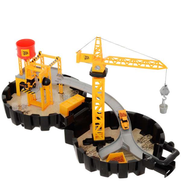 JCB PACKAWAY TYRE PLAYSET Toys