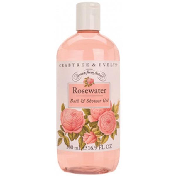 Crabtree Amp Evelyn Rosewater Bath Amp Shower Gel 500ml