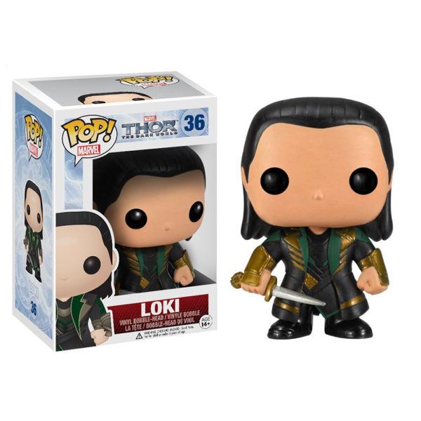 Marvel Thor 2 Loki Pop! Vinyl Figure
