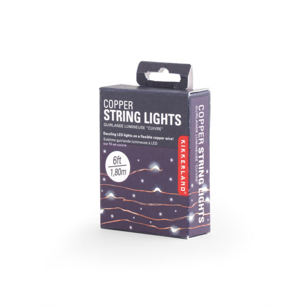 Copper String Lights Traditional Gifts TheHut.com
